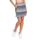 Alternate View 1 of Essentials Corina Striped Jacquard Skort