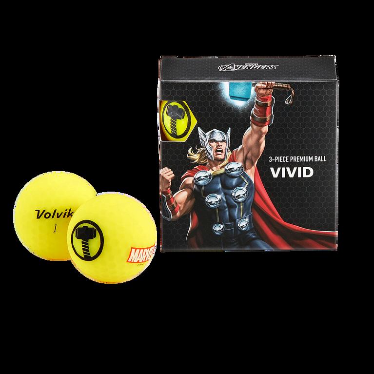 Marvel Thor 4 Ball Pack