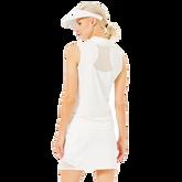 Alternate View 1 of Malibu Collection: Sleeveless Mesh Polo Shirt