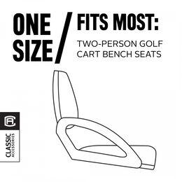 Classic Cart Fairway Golf Cart Seat Blanket - Light Khaki
