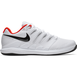 Air Zoom Vapor X Men's Tennis Shoe - White/Black/Red