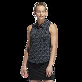 Ultimate Sleeveless Stripe Polo Shirt