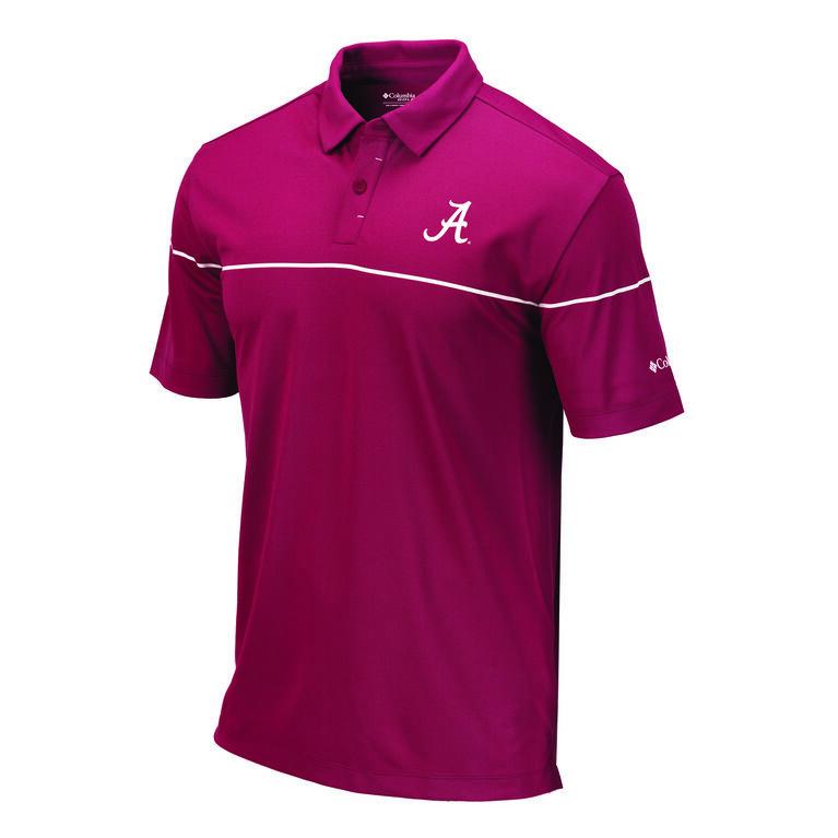 Columbia Alabama OMNI-WICK Breaker Golf Polo