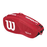 Wilson Team II  6 Pack - Red/White