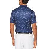 Alternate View 1 of Pro Series Mini Flag Print Short Sleeve Polo Golf Shirt