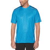 Grand Slam Men's Short Sleeve Printed Body Map Crew Neck T-Shirt