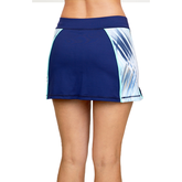 """Alternate View 1 of Speed Lines Collection: Printed Inset 14"""" Tennis Skort"""