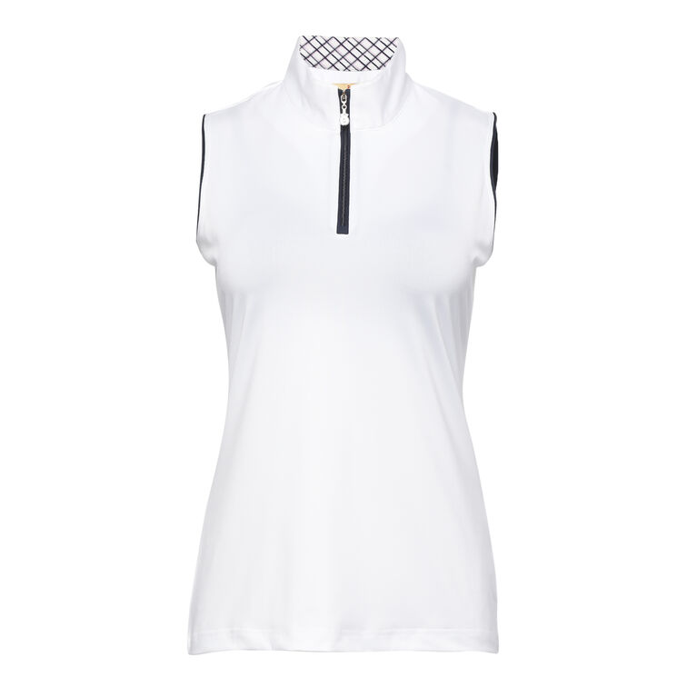 On The Edge: Katie Sleeveless Polo