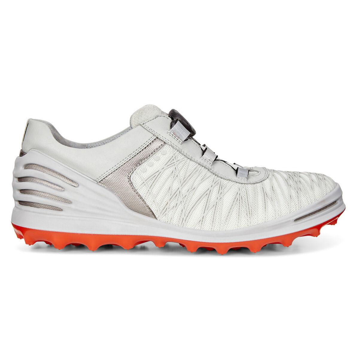 269ae496180 ECCO Cage Pro Boa Men's Golf Shoe - White | PGA TOUR Superstore