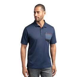 Ziggy Zoggy Short Sleeve Stripe Pocket Polo