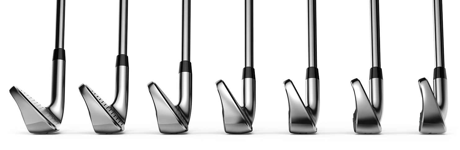 Cobra F-Max Superlite Irons Progressive CG Locations