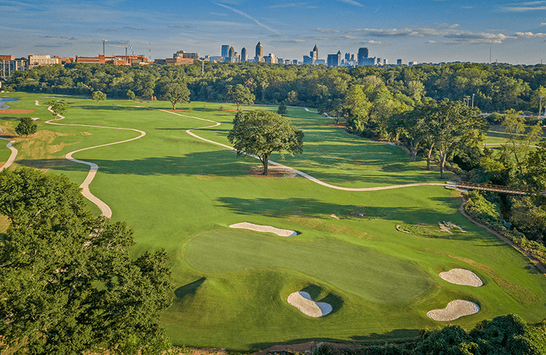 Bobby Jones Golf Course Aerial 2
