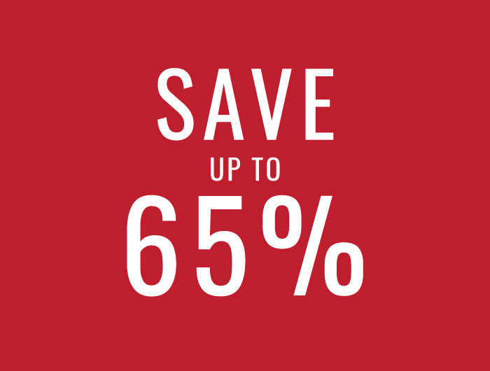 Save up to 65%