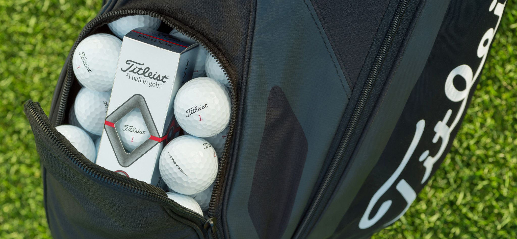 titleist pro v1 golf ball pocket