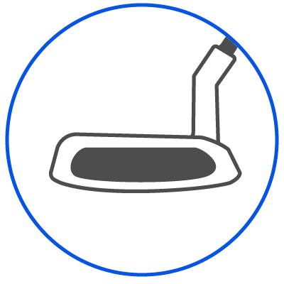 Putter Fitting Icon