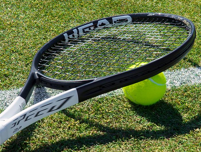 Tennis Racquets Banner