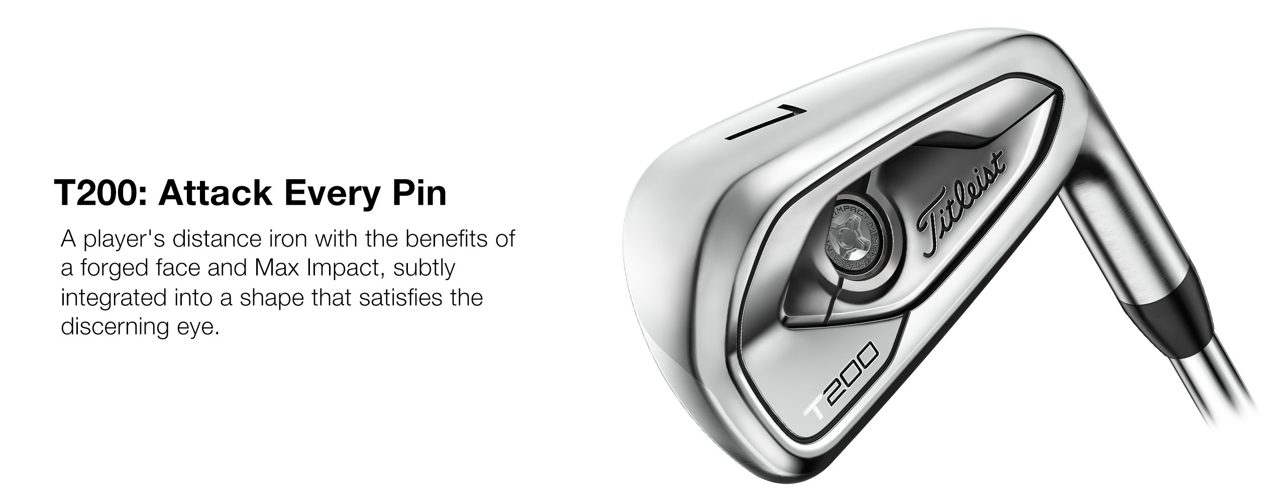 Titleist T200 Model Overview