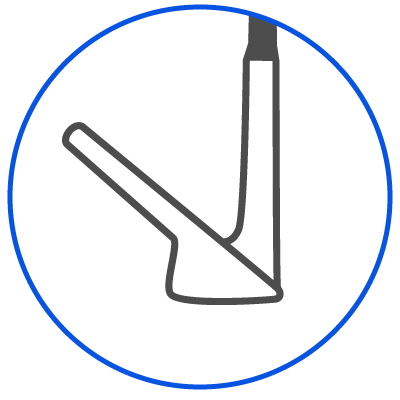 Wedge Fitting Icon