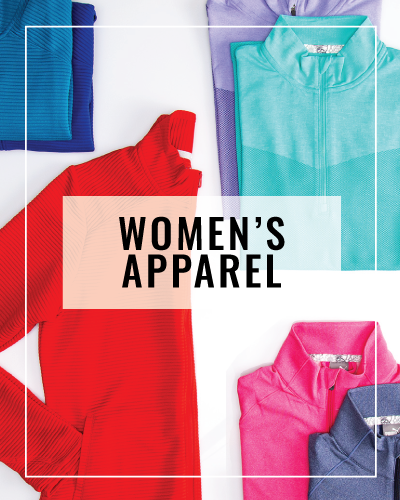 How-to-Buy Women's Golf Apparel Icon