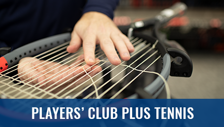 Palyers Club Tennis Membership