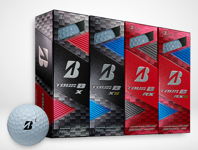 Golf Balls Bridgestone Tour B Banner
