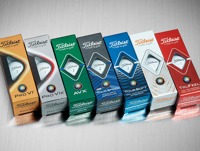 Golf Balls Titleist Family
