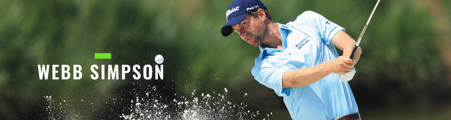 Landing Page Banner Webb Simpson