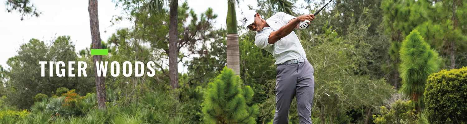 Masters Landing Page Banner Tiger Woods