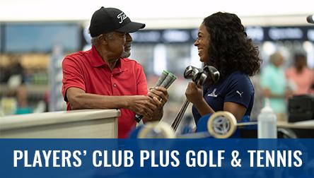 Players Club Golf and Tennis Membership