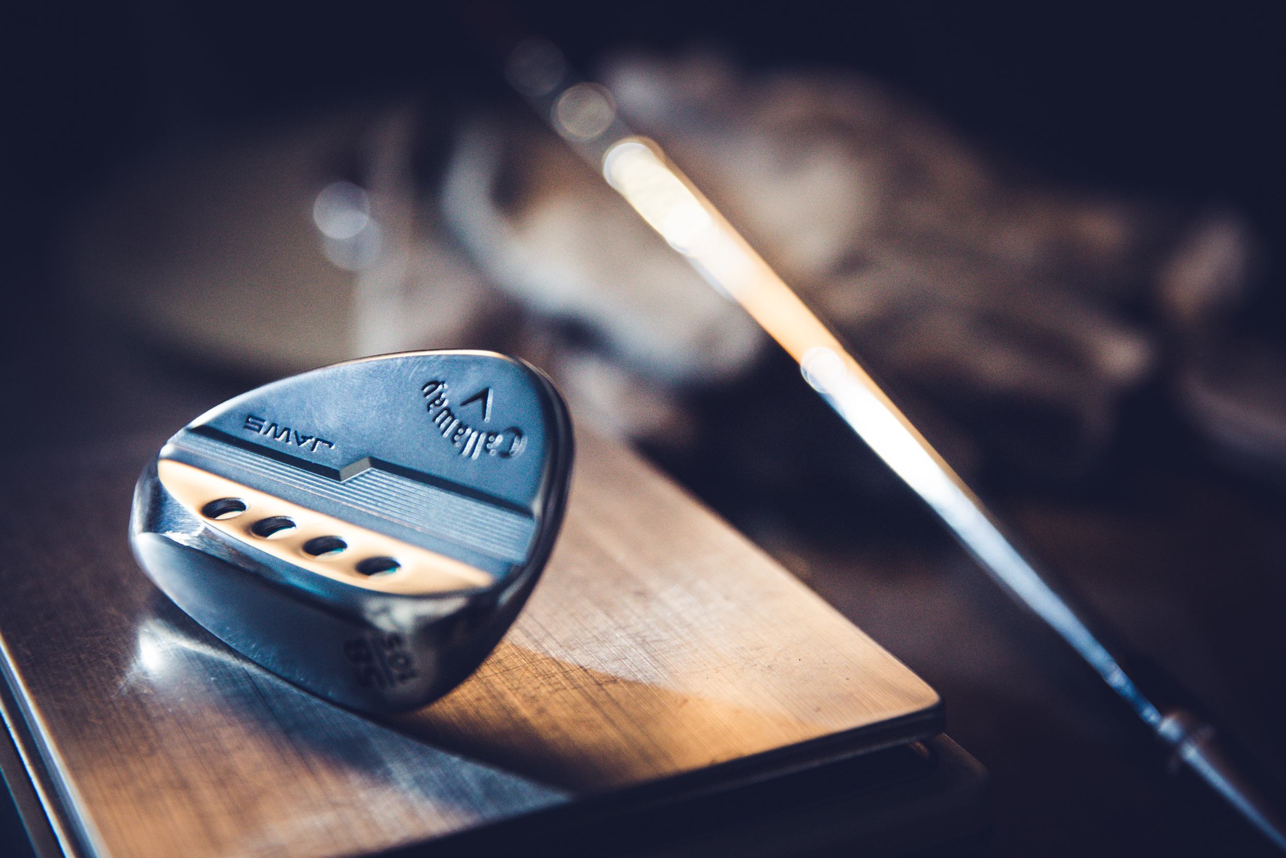 Callaway JAWS MD5 Wedge in lab
