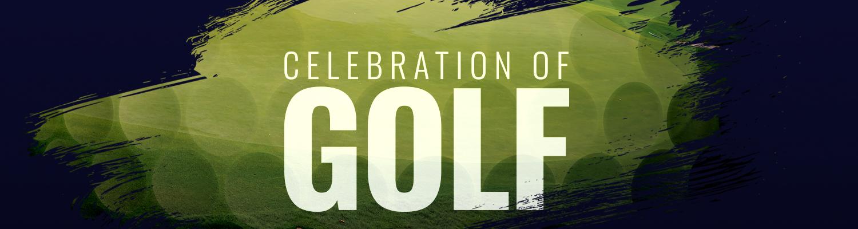 celebration of golf landing page