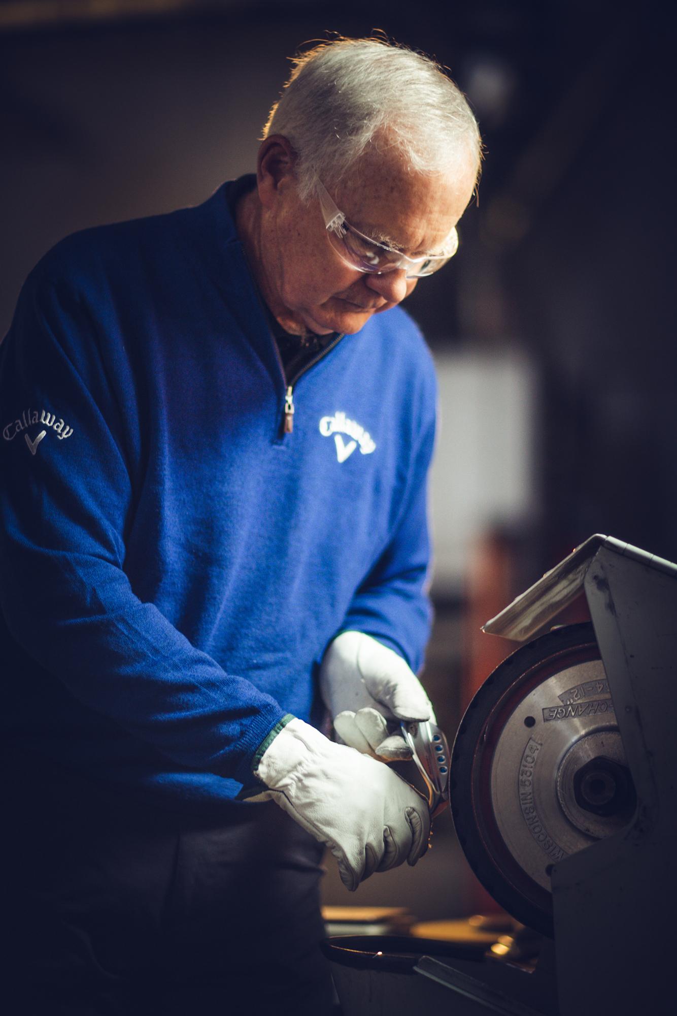 Roger Cleveland grinding MD5 Wedge