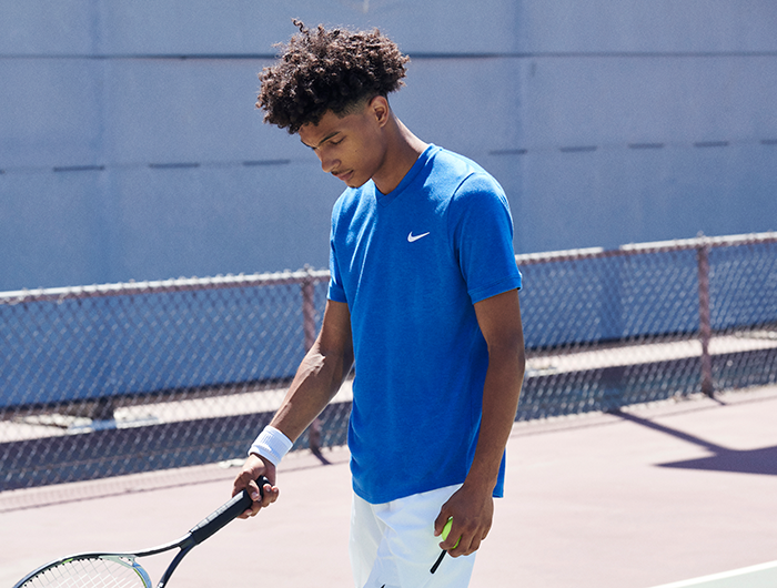 Tennis Apparel Banner