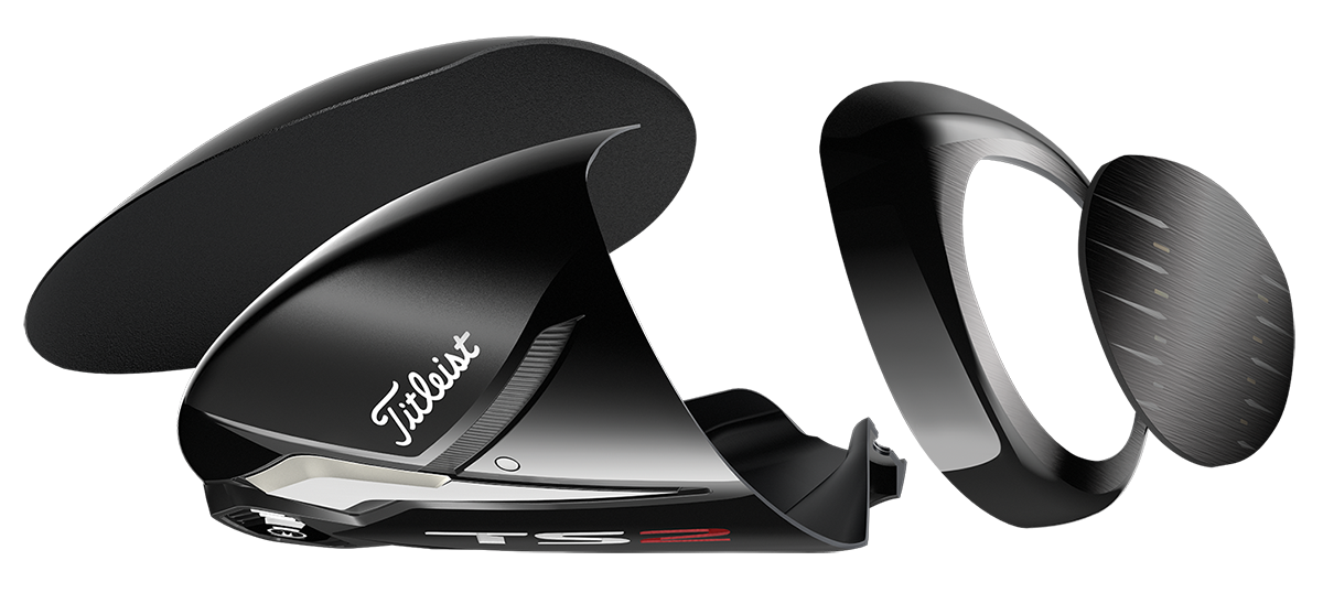 titleist ts2 driver exploded tech view