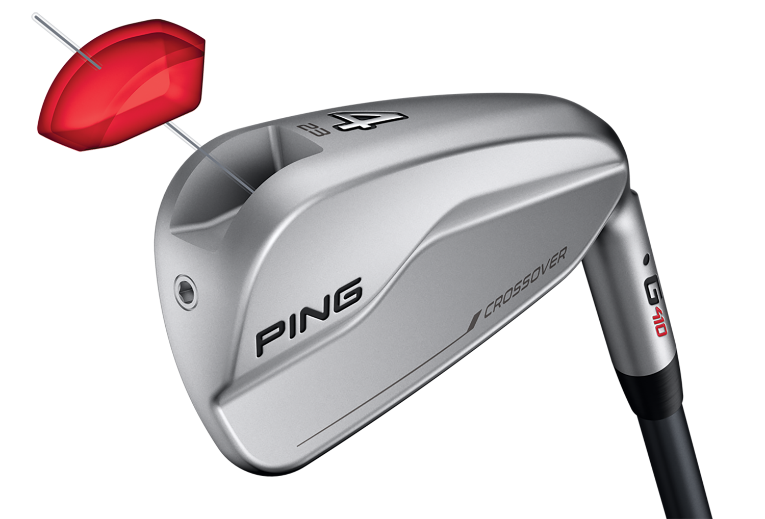 PING G410 Crossover Exploded Tech