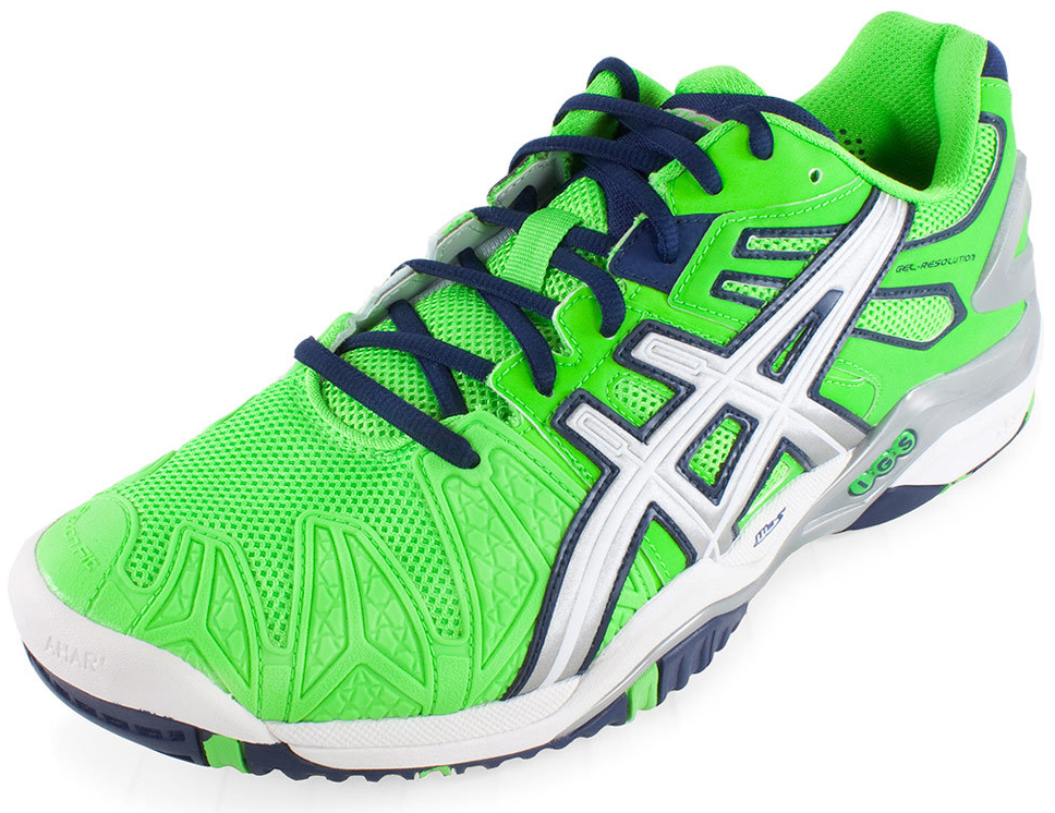 asics gel resolution 5 tennis shoes