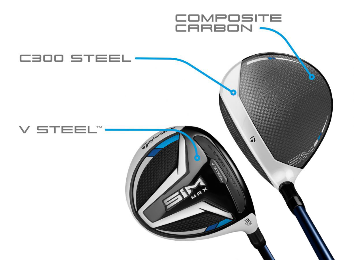 TaylorMade SIM MAX Fairway Wood CG