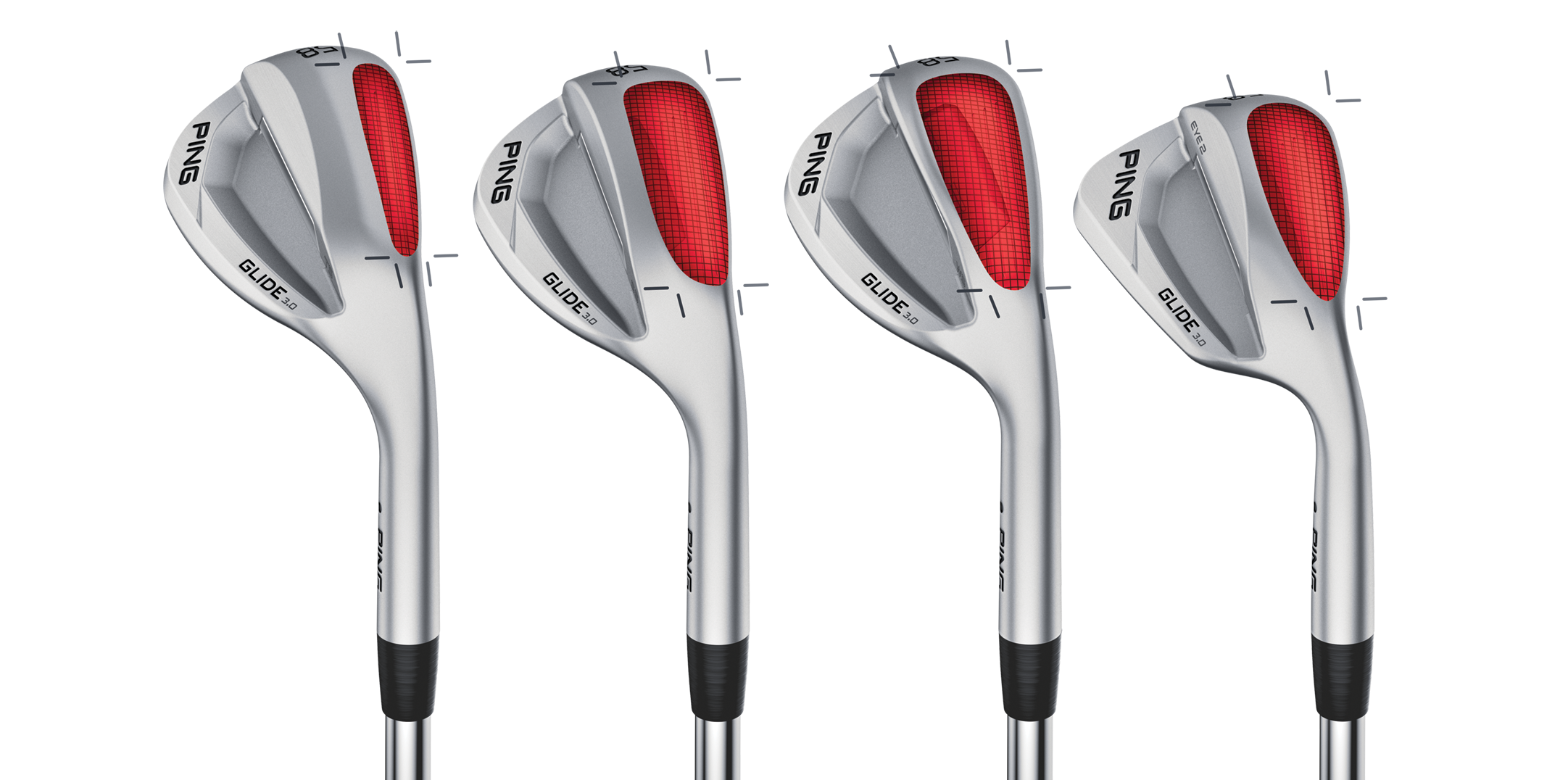 PING Glide 3 Sole Chart