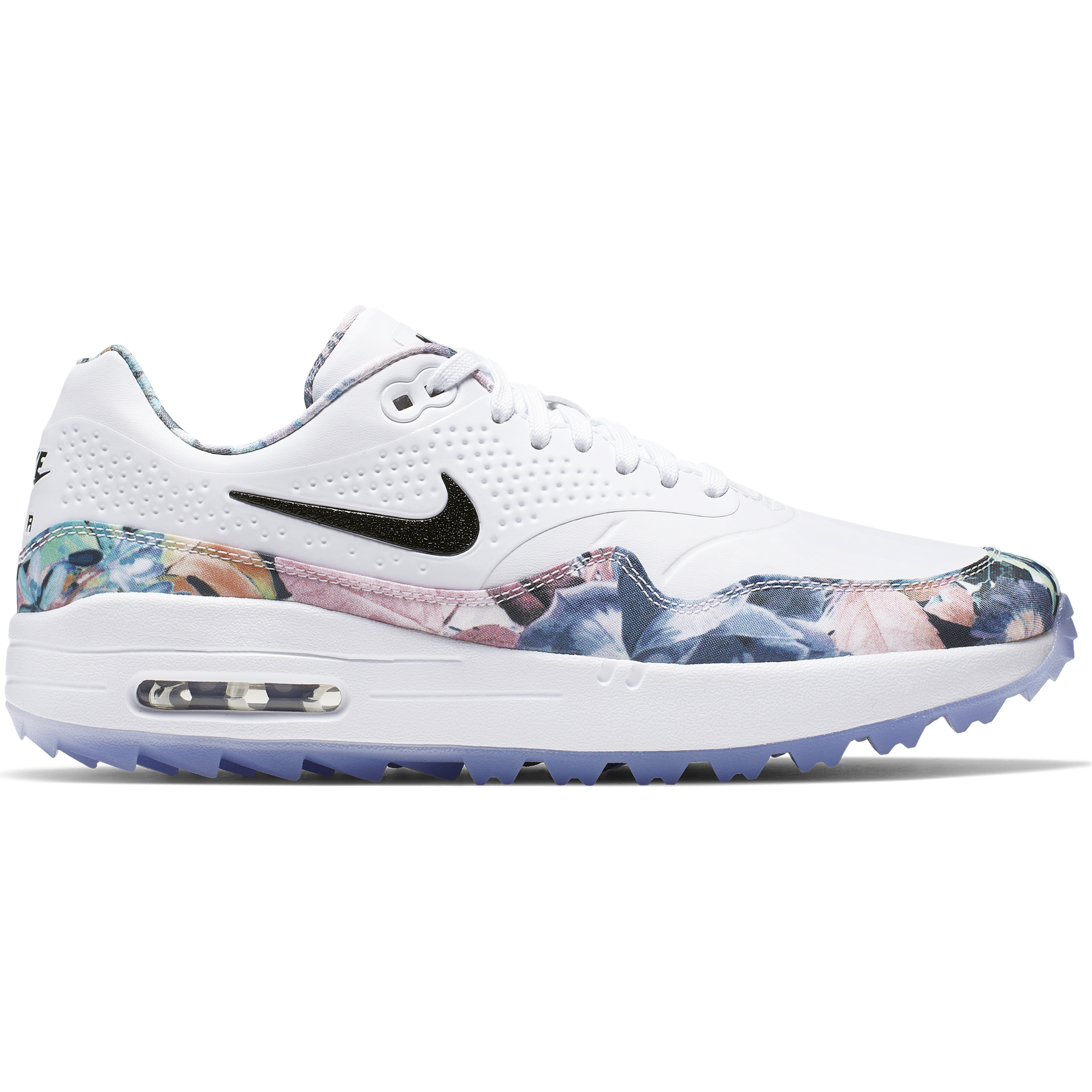 Nike Air Max 1 G Nrg Women S Golf Shoe White Floral Pga Tour Superstore