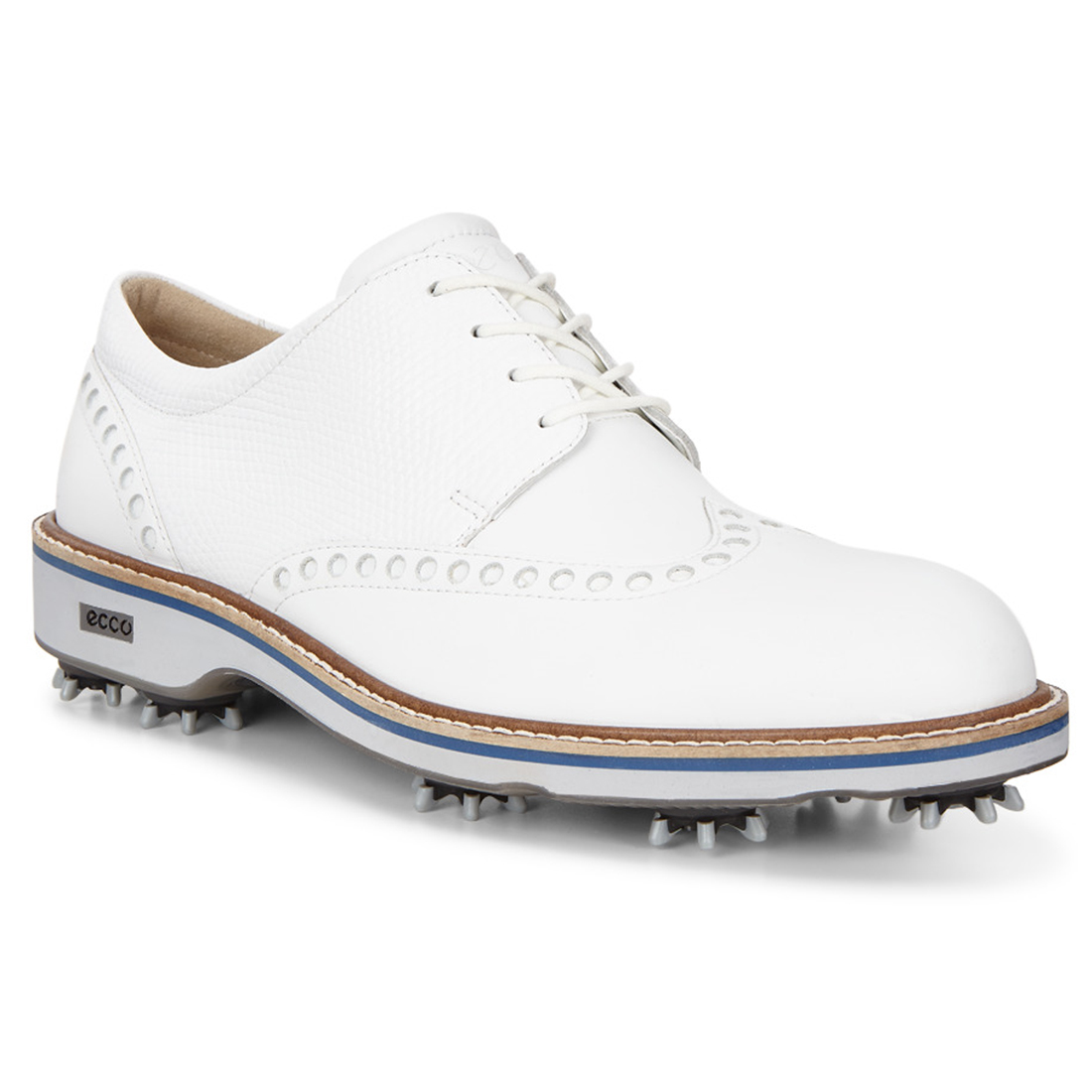 Ecco Lux Men S Golf Shoe White Pga Tour Superstore