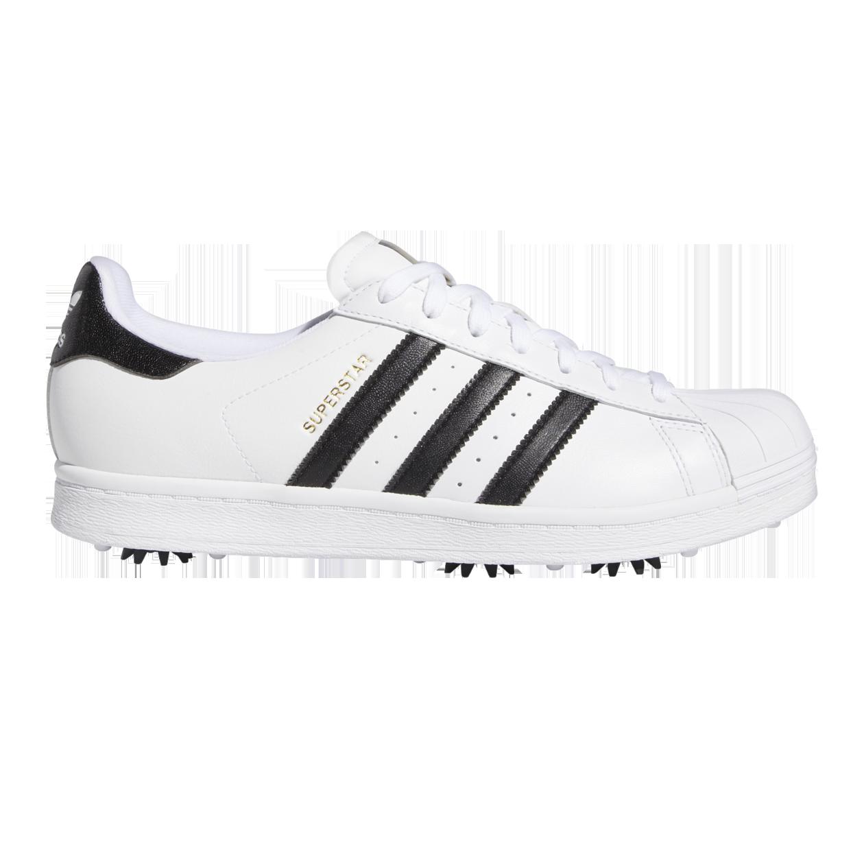 Adidas Superstar Men S Golf Shoe White Black Pga Tour Superstore