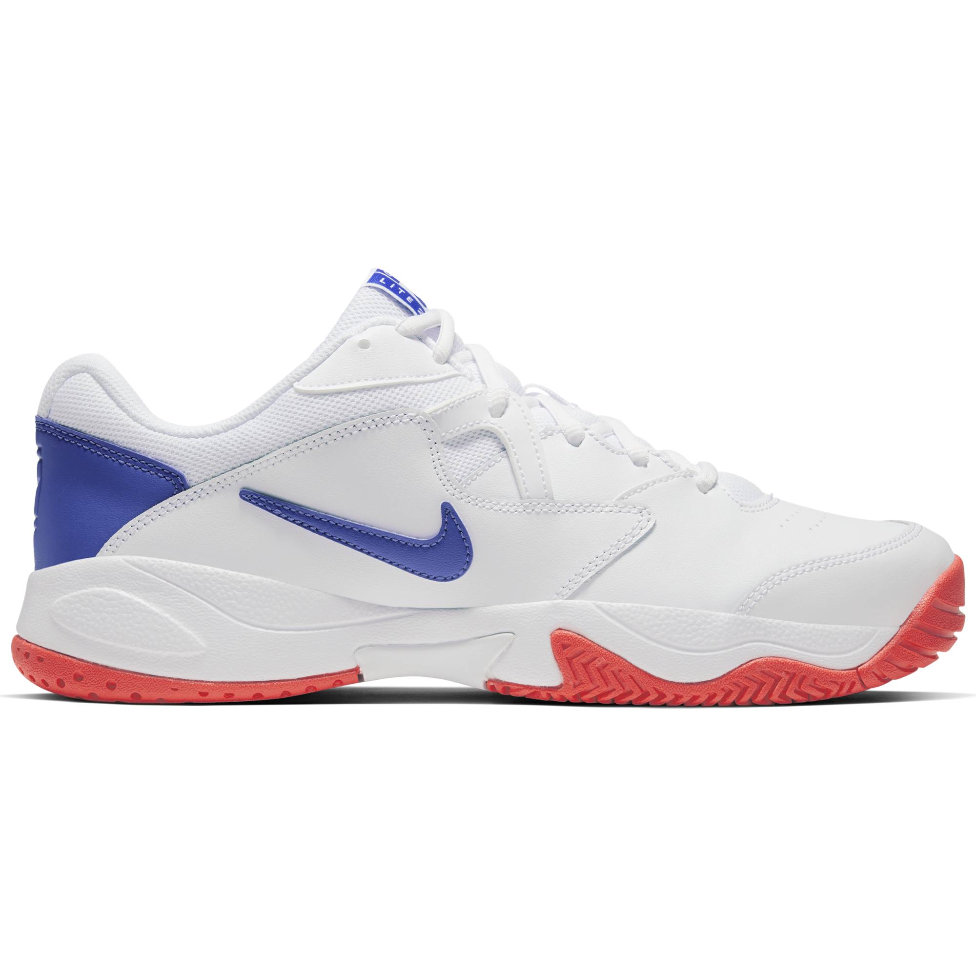 continuar Insatisfactorio Dar derechos  NikeCourt Lite 2 Men's Hard Court Tennis Shoe - White/Royal | PGA TOUR  Superstore
