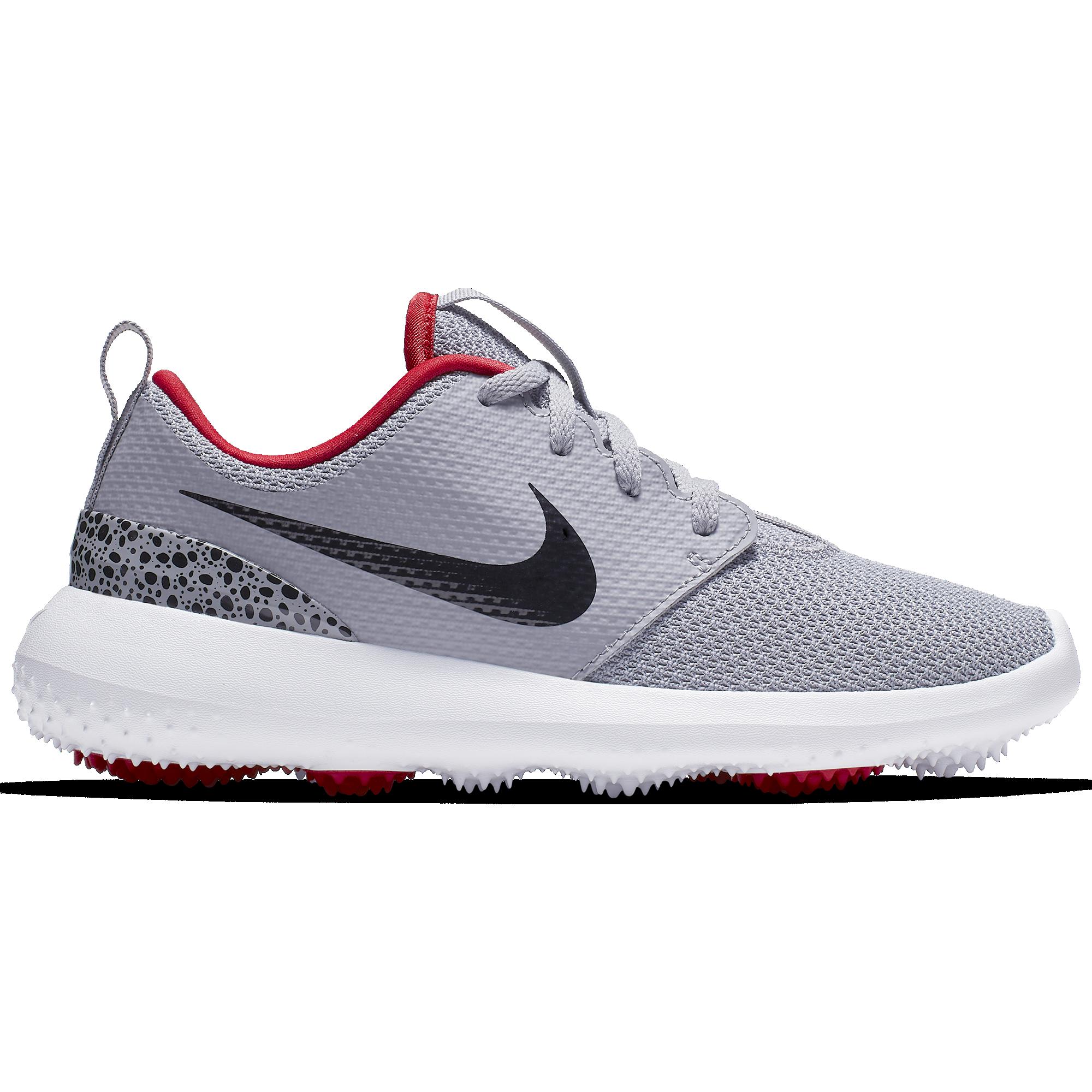 Nike Roshe G Junior Golf Shoe Grey Black Pga Tour Superstore