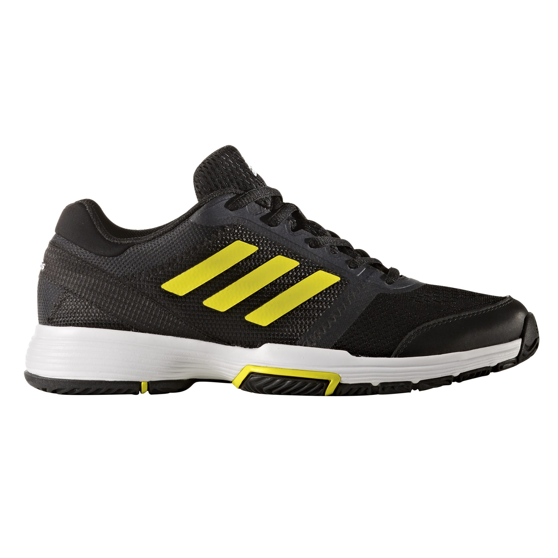 adidas Barricade Club Women's Tennis Shoe - Black/Yellow