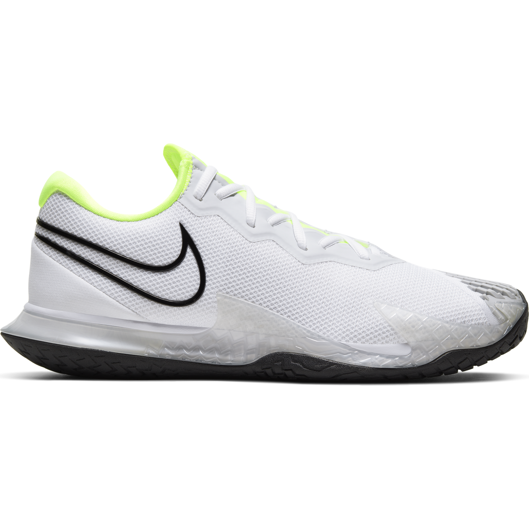 Air Zoom Vapor Cage 4 Men's Tennis Shoe - White/Yellow