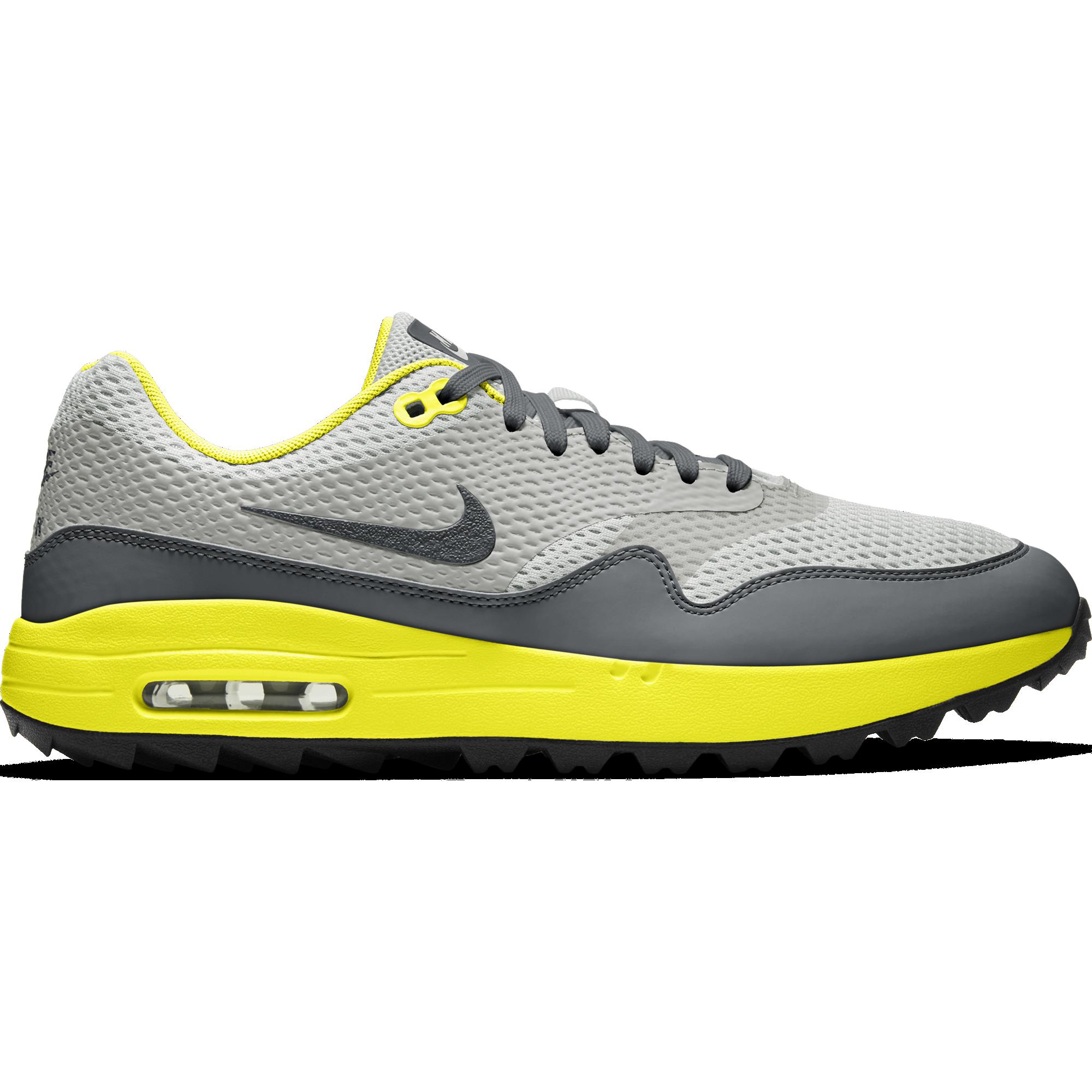 Nike Air Max 1 G Men's Golf Shoe - Grey