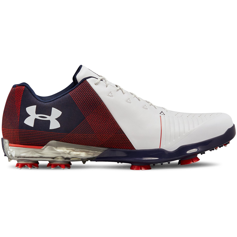 Under Armour Spieth 2 USA Men's Golf Shoe - Red/Navy