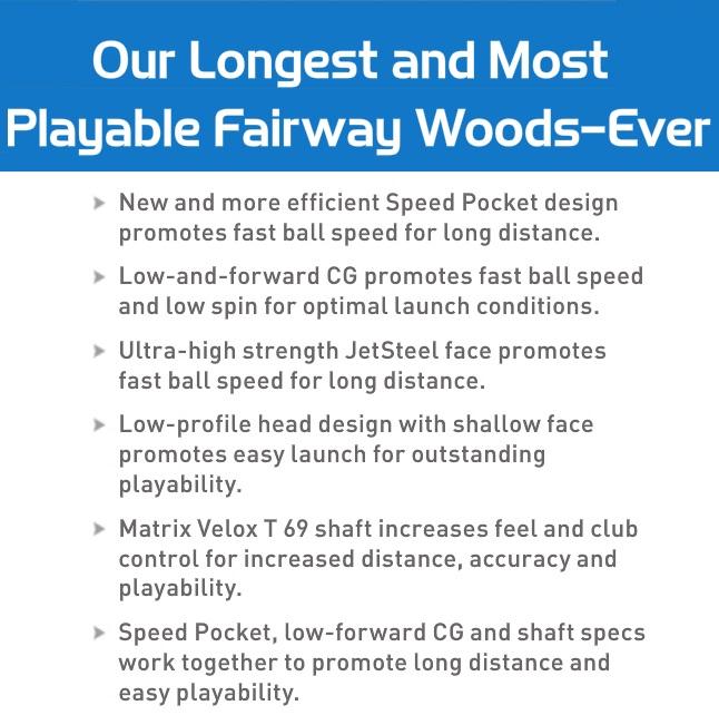 Taylormade JetSpeed Fairway
