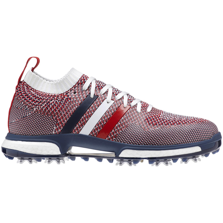 adidas TOUR 360 Knit USA Men's Golf Shoe - Red/White/Blue
