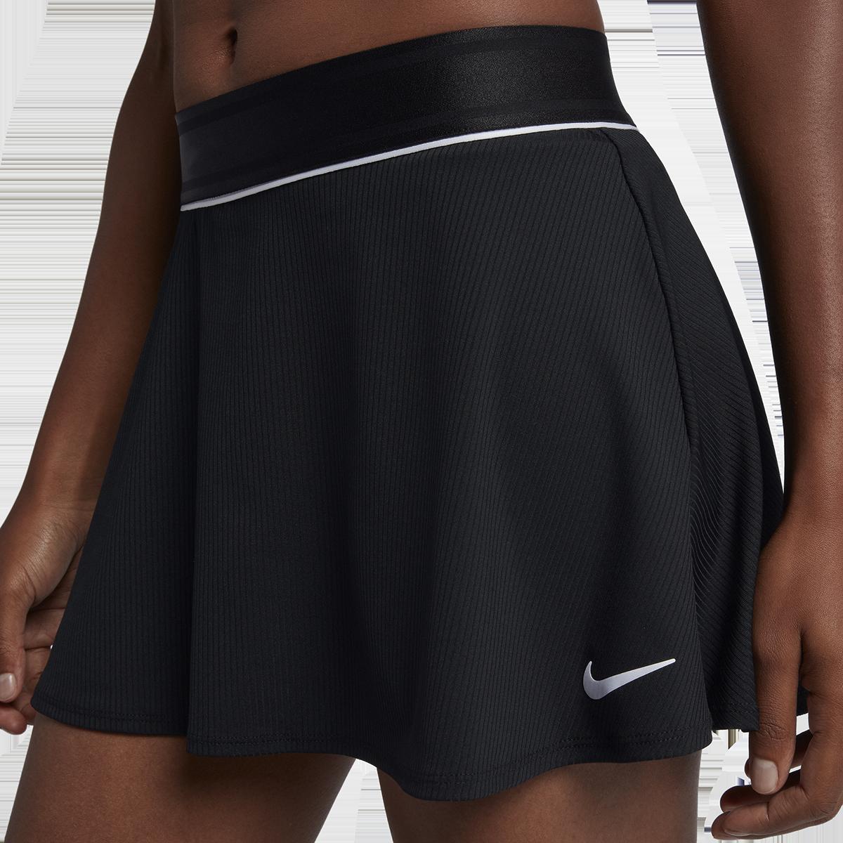 Nikecourt Dri Fit Flouncy Tennis Skirt Pga Tour Superstore Flat, elastic waistband stretches for a secure, flattering fit. dri fit flouncy tennis skirt